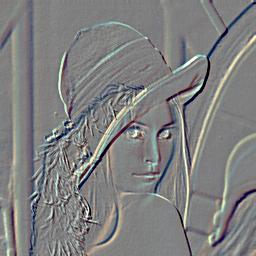 エンボスのサンプルコード 画像フィルター