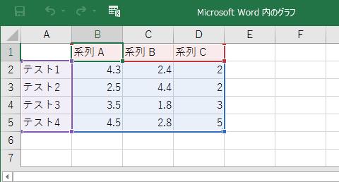 グラフの使い方 wordの基本操作 上級